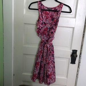 Express Floral Dress Size L